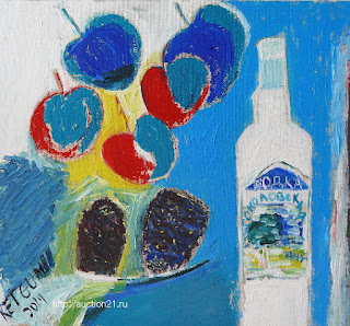 Современное искусство - современная живопись, холст масло