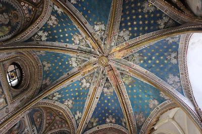 Cúpula estrellada de la capilla de San Blas