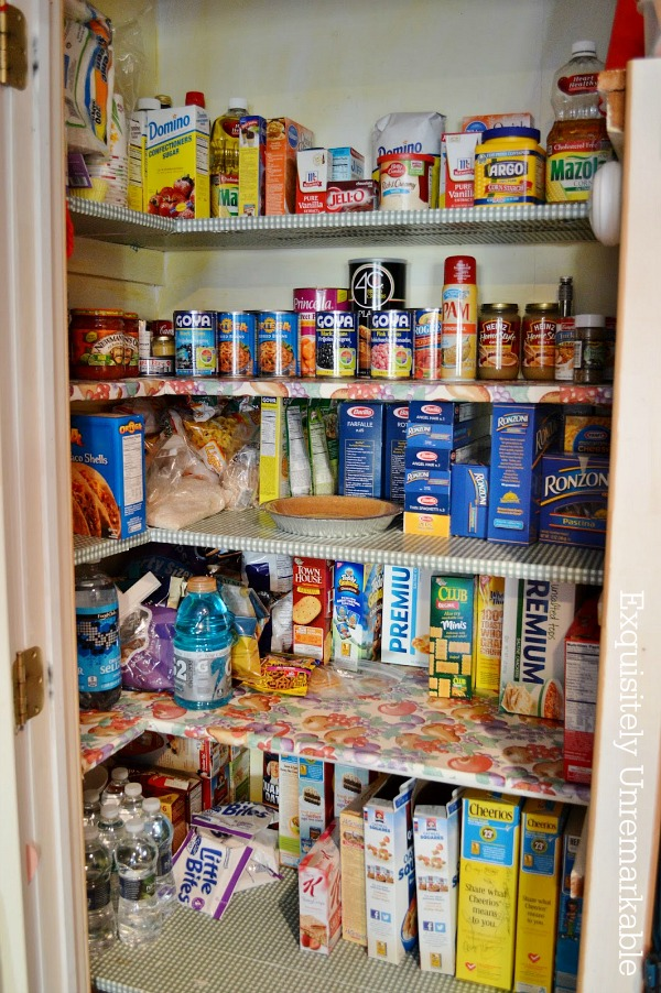 My Pretty Cottage Style Pantry Makeover