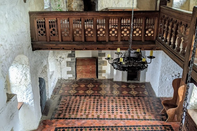 Inside Drimnagh Castle on a guided tour