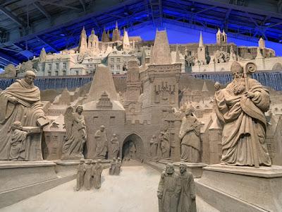 砂の彫刻作品その4