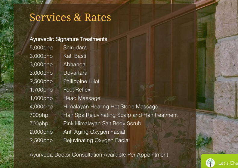 forest of vraja wellness spa rates