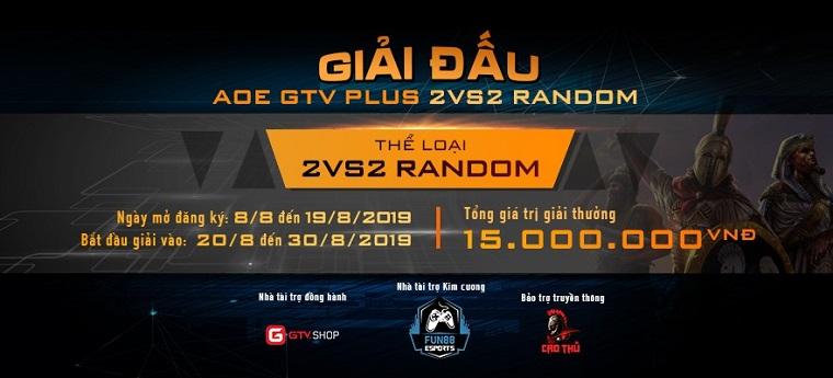 [AoE] Cập nhật diễn biến vòng loại thứ nhất giải đấu AoE GTV Plus 2v2 Random