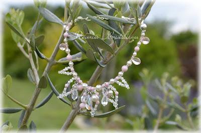 bracelet perles nacrées mariage