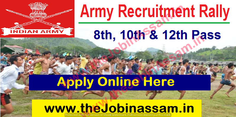 Army Recruitment Rally Aizawl 2021