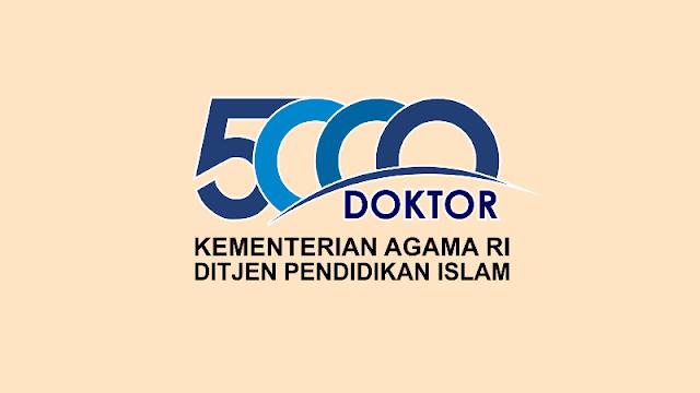 Kemenag Buka Beasiswa 5000 Doctor, Integrated Master-Doctor (IMD) Tahun 2020