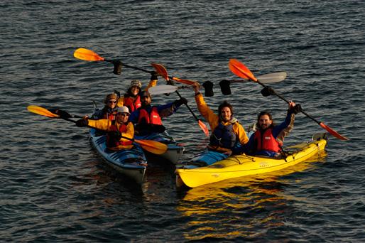 Adventure Kayak Peninsula Valdes Argentine Patagonia