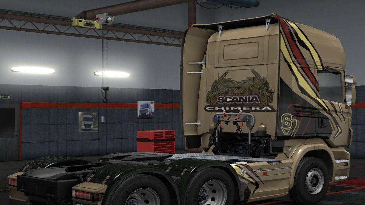 Scania R Team Chemira Skin