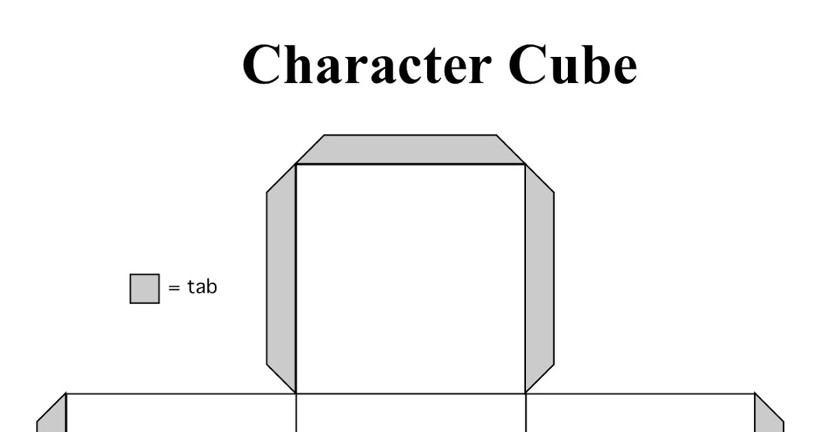The Corner On Character: Character Cubes