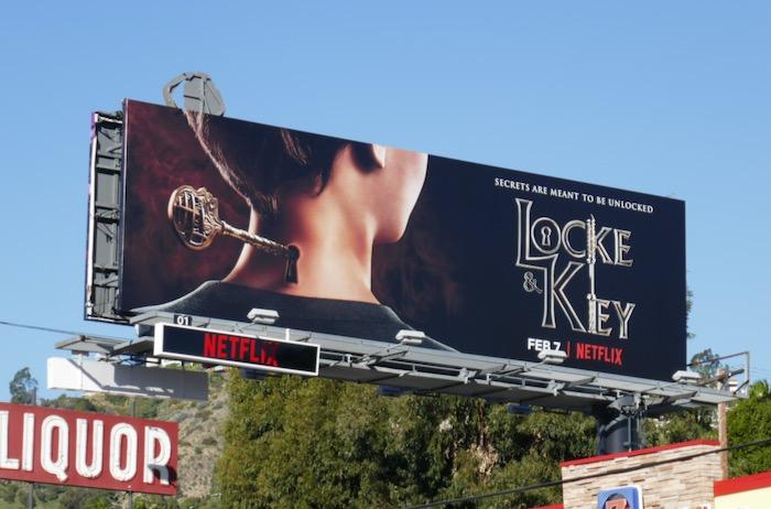 Locke & Key Netflix series billboard