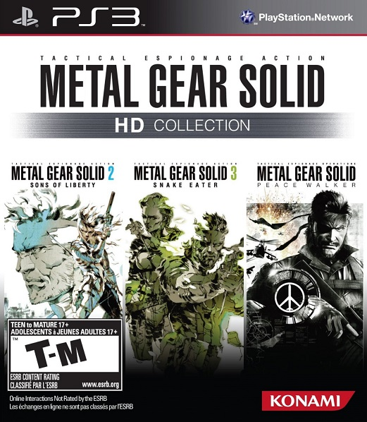 Metal Gear Solid HD Collection PS3 ISO