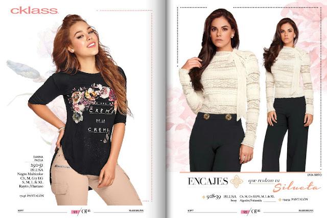ropa  cklass  invierno 2016 | moda damas