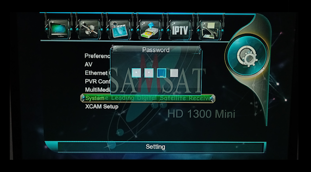 Samsat Hd1300 1506g 1g 8m New Software