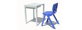 Mobiliario de gran calidad para los alumnos y profesores.