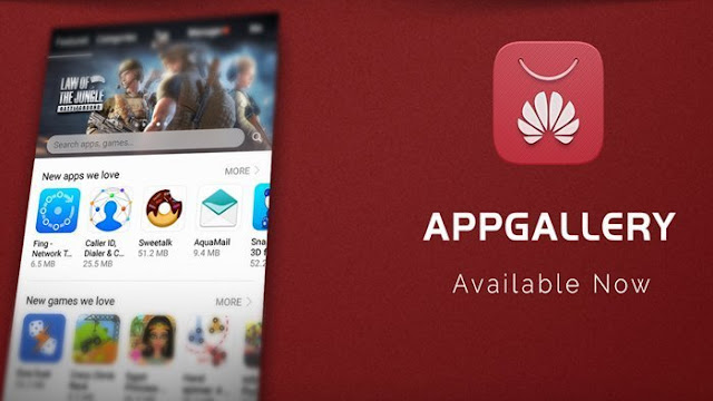 Huawei builds its own app store