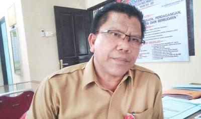 Kepala Dinas Penanaman Modal Pelayanan Terpadu Satu Pintu dan Tenaga Kerja Kota Pariaman, Alfian Harun