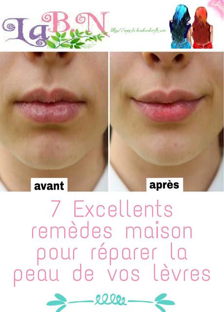 7 Excellents remèdes maison pour réparer la peau de vos lèvres