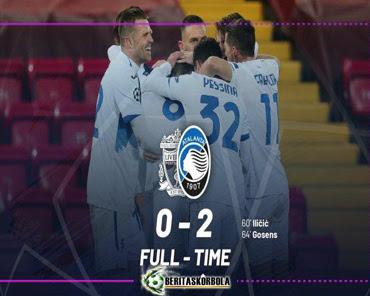 Hasil Pertandingan Liverpool vs Atalanta: Skor 0-2