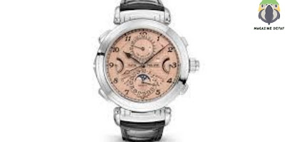 They sold a luxury watch at a record price of $ 31 million