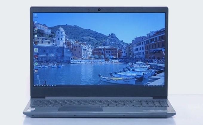 Lenovo IdeaPad S145 laptop.