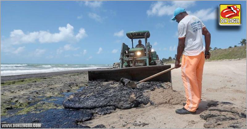 Derrame de petróleo venezolano llegó hoy al estado de Río de Janeiro