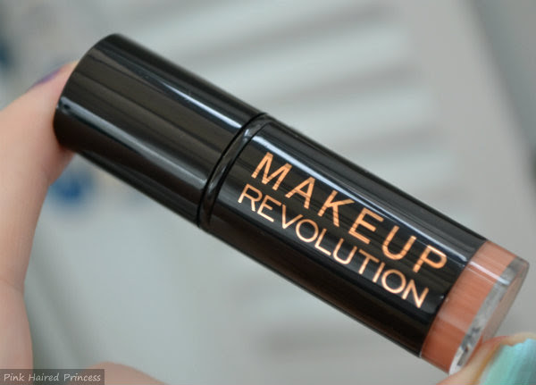 makeup revolution amazing lipstick nude case