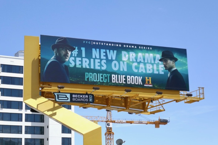 Project Blue Book 2019 Emmy FYC billboard