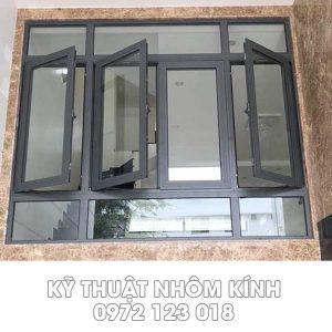 3 mẫu cửa sổ cánh lùa và mở được nhiều khách hàng sử dụng nhất