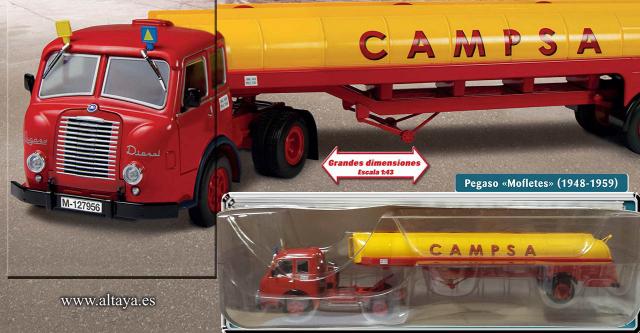 colección camiones articulados 1:43 altaya