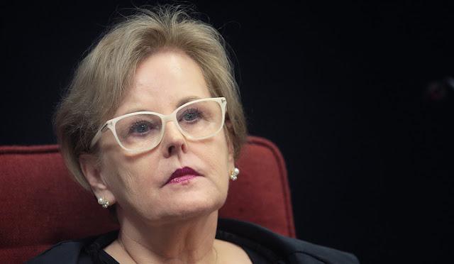 Rosa Weber comenta vídeo de filho de Bolsonaro