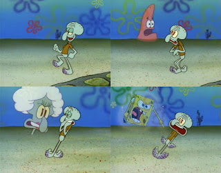 Polosan meme spongebob dan patrick 39 - mama squidward