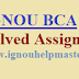IGNOU BCA Solved Assignments 2021-22 session
