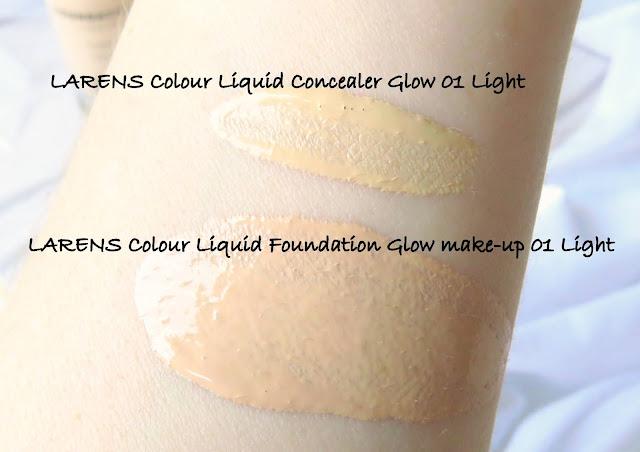 LARENS Colour make-up a korektor odtiene