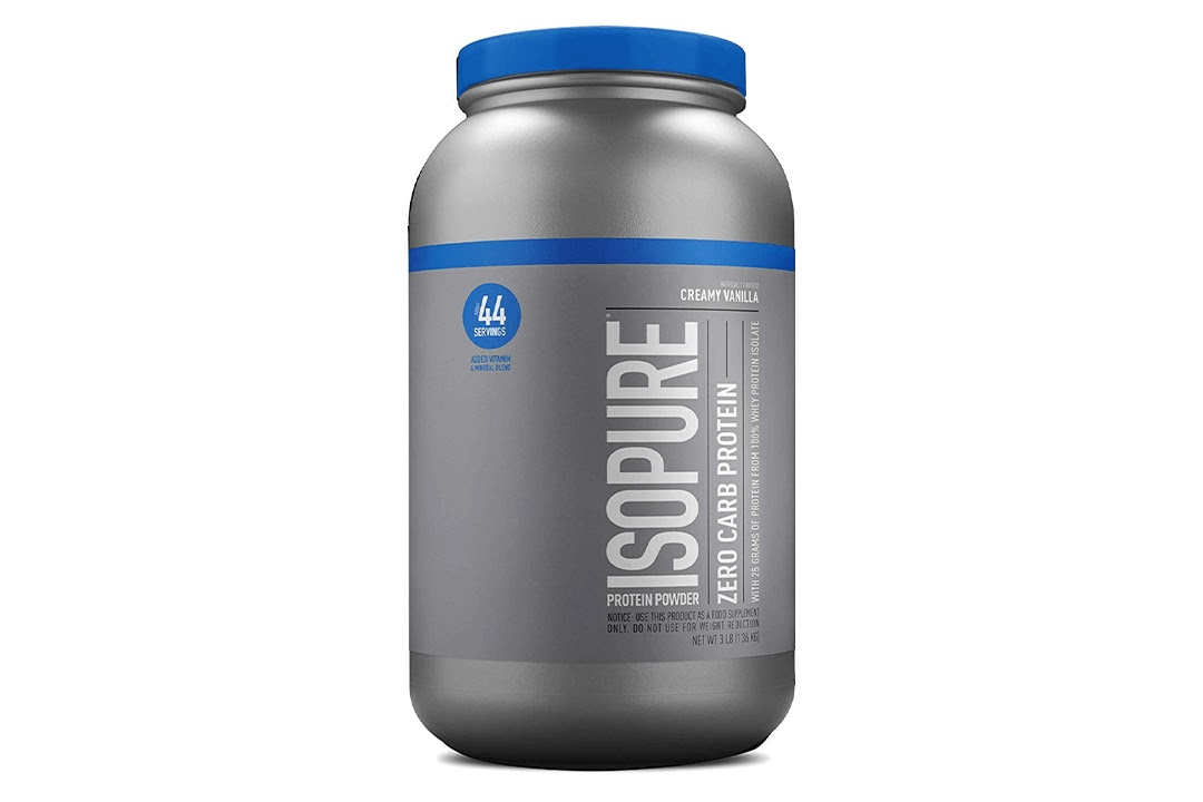 ISOPURE Zero Carb, Keto Friendly Protein Powder
