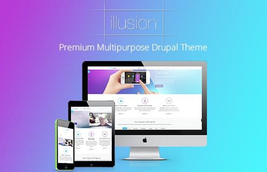 50 High Quality Premium Responsive CMS Drupal Templates
