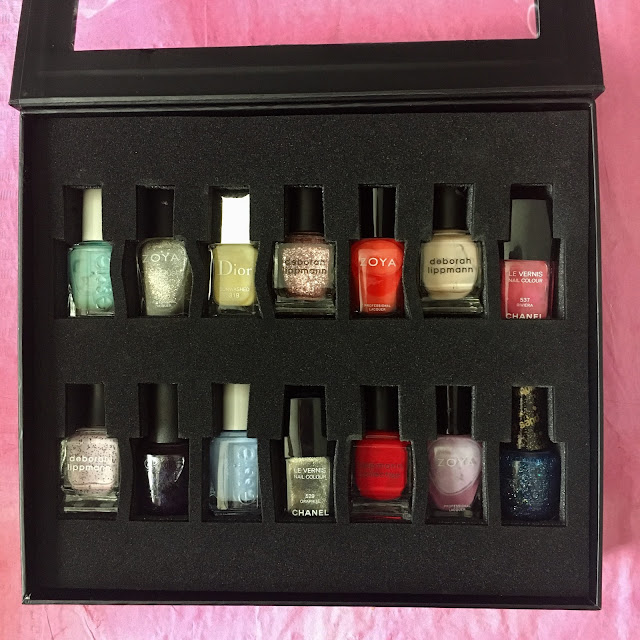 Color Clutch, 14-Bottle Color Clutch Black, nail polish, nail lacquer, nail varnish, nails, manicure, #ManiMonday, stash, display, travel, storage