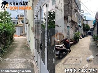 Nhà Gò Vấp hẻm 114 đường Bùi Quang Là p12 - 3,7×10m đúc 1 lầu 2pn 2wc giá 2,8 tỷ ( MS 047 )