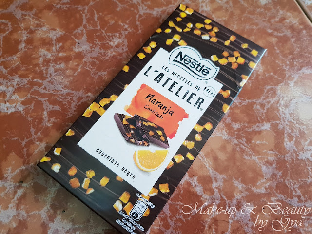 Nestlé chocolate negro con naranja confitada Caja Degustabox Marzo ´18 - ¡Hola Primavera!