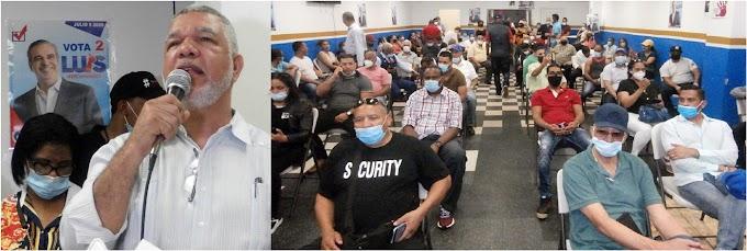 PRM convoca acto de agradecimiento en El Bronx  con  masiva asistencia de dirigentes y militantes