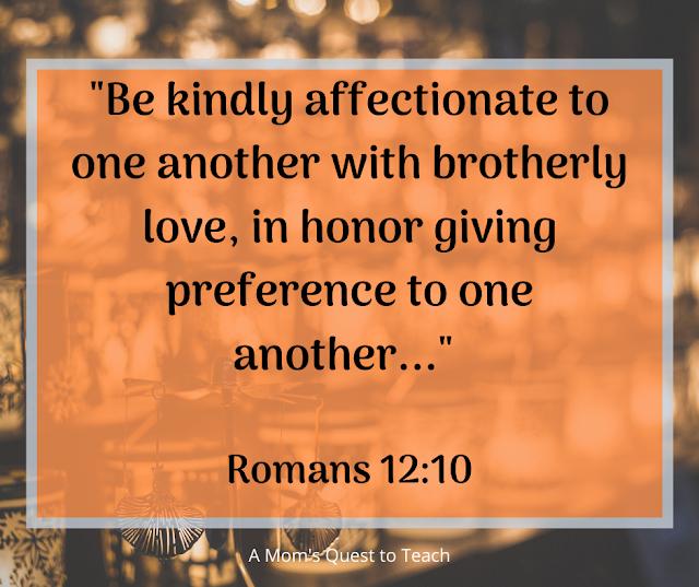 Romans 12:10 Quote