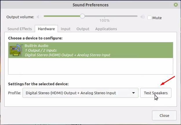Mengatasi Audio Suara tidak Ada Saat Colok Monitor di Linux