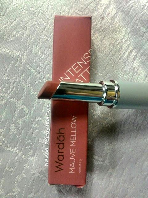 Wardah Intense Matte Lipstik Mauve Mellow