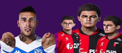 PES 2020 Faces Ricardo Centurión & Luis Miguel Rodríguez ( Pulga )
