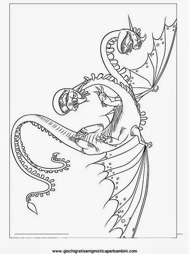 Disegni Da Colorare Dragon Trainer