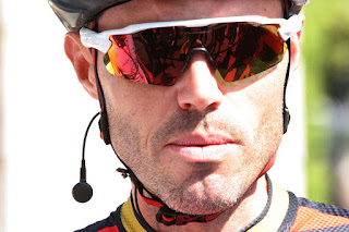Samuel Sanchez at La Vuelta for BMC Cycling Team