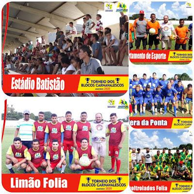 Prefeitura de Anapurus: Torneio dos Blocos Carnavalescos movimenta desportistas no município