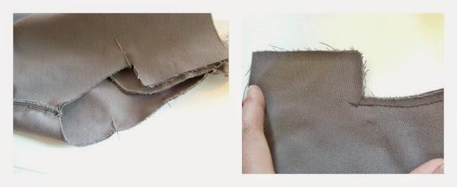 Importante coser y asegurar