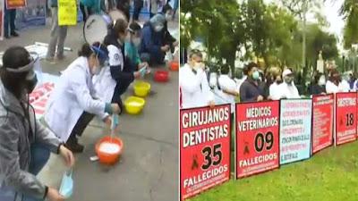 Federación Médica inició paro de 48 horas por incumplimiento del Gobierno