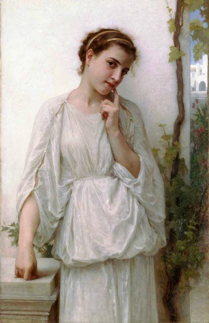 Адольф Вильям Бугро - Мечтательность (1894)