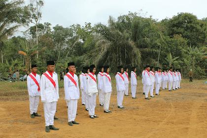 Foto Dokumentasi HUT RI ke 74 Desa Perintis Rimbo Bujang Tebo Jambi